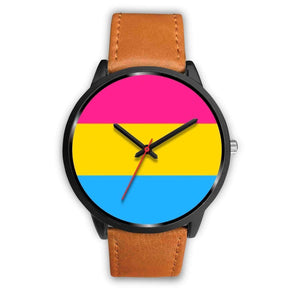 Black Watch - Pansexual Pride Watch