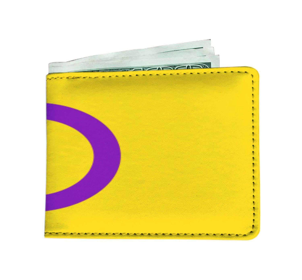 Mens Wallet - Intersex Pride - Wallet