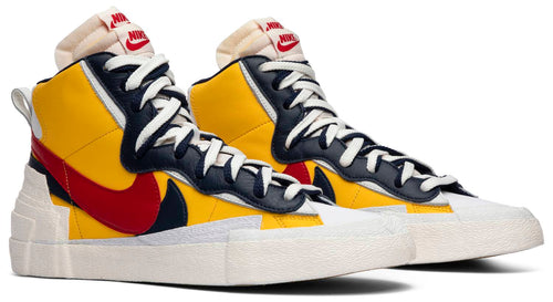 Sacai x Blazer Mid 'Maize Navy'