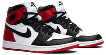 Load image into Gallery viewer, Air Jordan 1 Retro High 'Satin Black Toe' WMNS