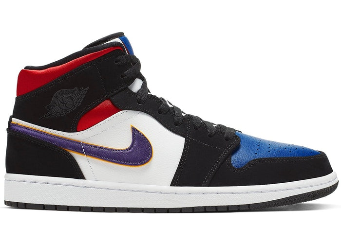 Jordan 1 Mid Lakers