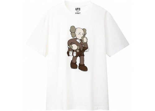 KAWS x Uniqlo Clean Slate Tee White
