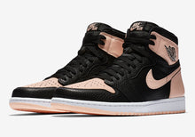 Load image into Gallery viewer, Jordan 1 Retro High Black Crimson Tint