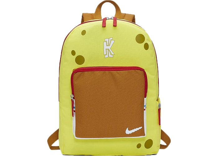Nike Kyrie Spongebob Backpack Yellow