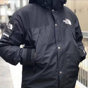 Supreme SS19 The North Face Arc Logo Mountain Parka - Black