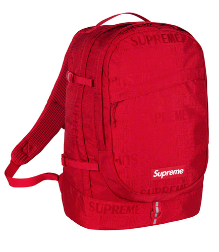 Supreme SS19 Backpack - Red