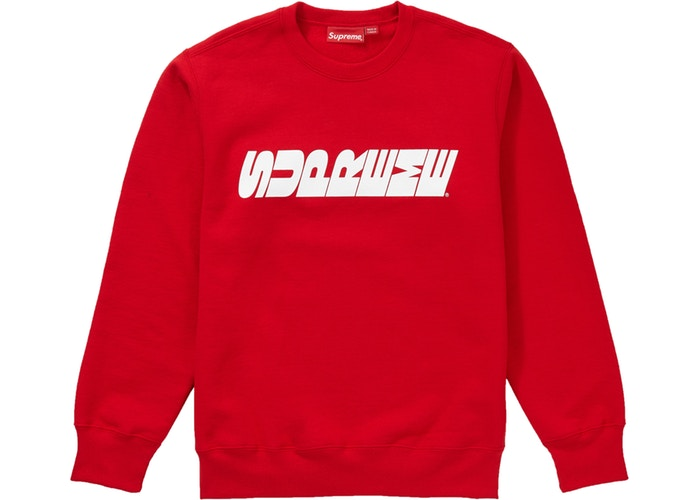 Supreme FW19 Breed Crewneck RED