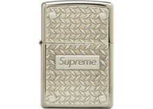 Load image into Gallery viewer, Supreme SS19 Diamond Plated Zippo Lighter