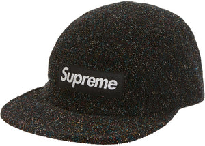 Supreme SS19 Glitter Terry Camp Cap
