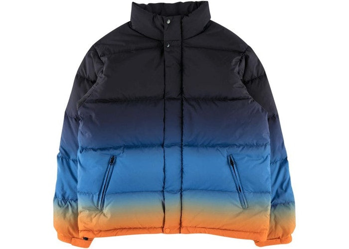Supreme SS18 Gradient Puffy Jacket Navy