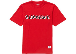 Supreme SS19 Shatter Tee - Red