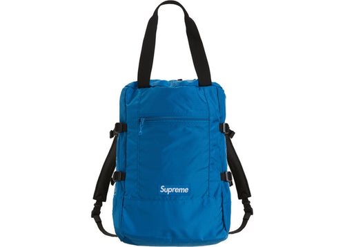 Supreme SS19 Tote Backpack Royal