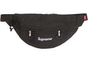 Supreme SS19 Waist Bag - BLACK