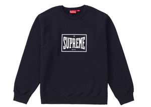 Supreme SS19 Warm Up Crewneck - Black