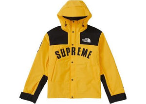The North Face X Supreme Arc Logo Mountain Ready Parka - Yellow