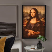 "Load image into Gallery viewer, Virgil Abloh x IKEA MARKERAD ""MONA LISA"" Backlit Artwork"