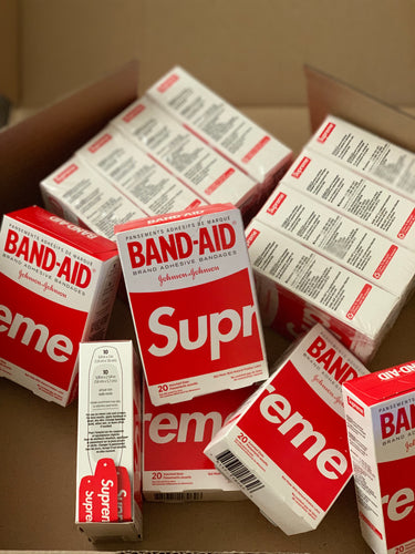 Supreme X Johnson & Johnson Band-Aid