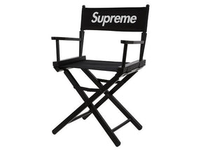 Supreme SS19 Director's Chair Black