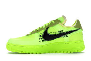 Nike x Off White Air Force Low - Volt ( Pre-Owned)