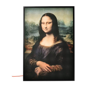 "Virgil Abloh x IKEA MARKERAD ""MONA LISA"" Backlit Artwork"