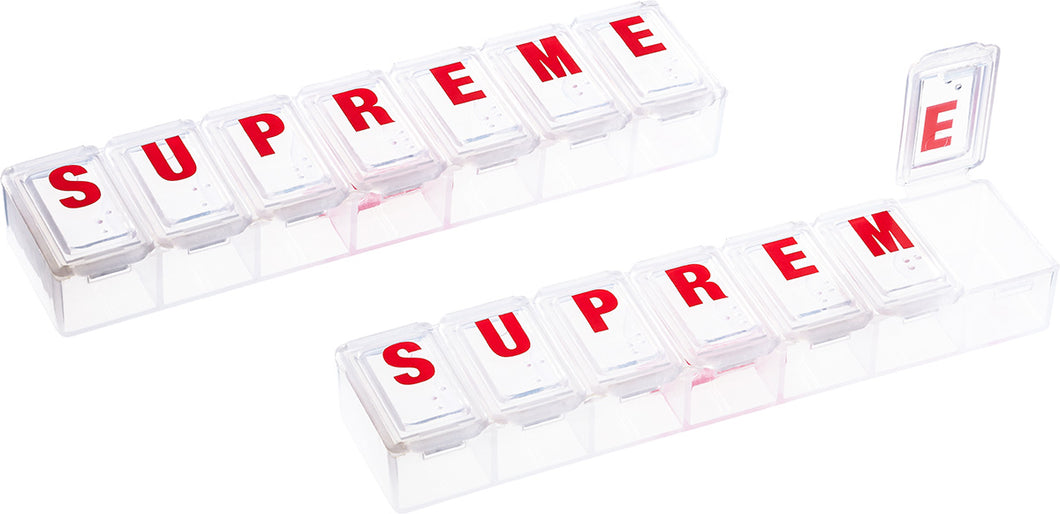 Supreme Pill Box