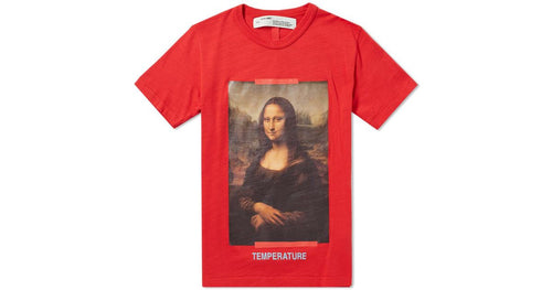 Off White Mona Lisa Tee - Red