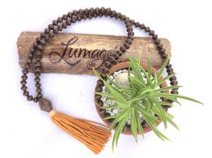 The Mala Necklace by Lumago Designs