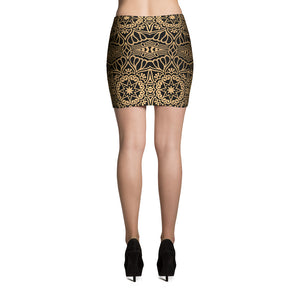 Filipino Town Tribale Mini Skirt