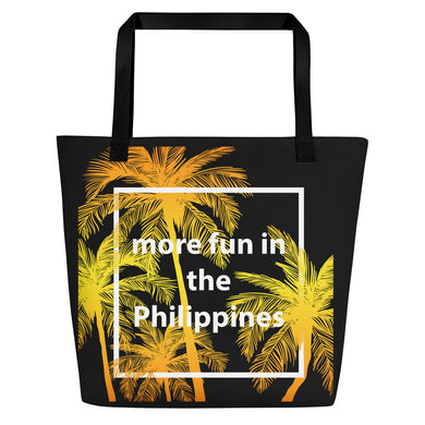 More Fun in the Philippines Beach Bag