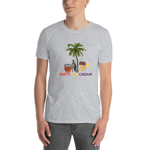 Dirty Ice Cream Short-Sleeve Unisex Classic Tee in Gray