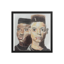 Kid n Play Framed poster