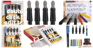 Isomars Calligraphy Pen Set - English