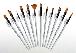 Isomars Professional Precision Art Brush Set of 12