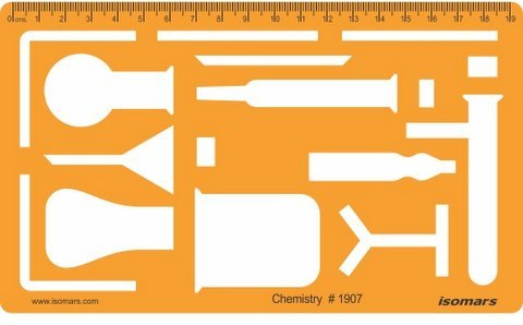 Isomars Chemistry Chemical Engineering Laboratory Equipment Symbols Drawing Template