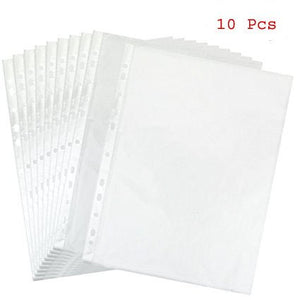 Isomars Transparent Document Sleeves Set of 10 - A2 Size