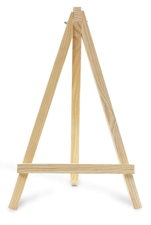"Isomars Artist Wooden Easel 18"" with Sketch Pad A4 & Canvas Boards - 8""x10"", 10""x12"""