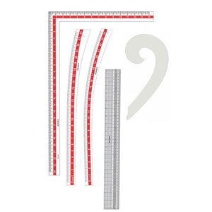 Isomars Fashion Designing Ruler Set