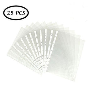 Isomars Transparent Document Sleeves Set of 25 - A3 Size