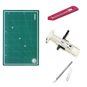 Isomars Cutting Mat A3 & Cutting Tools