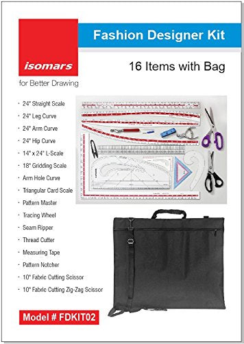Isomars Fashion Designing Kit Set of 16
