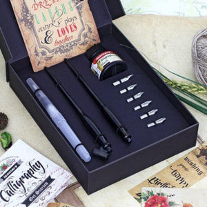 Isomars Calligraphy Pen Set - Royal
