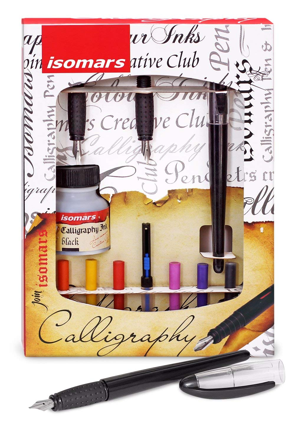 Isomars Calligraphy Pen Set - Arabic