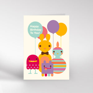 Birthday gang card