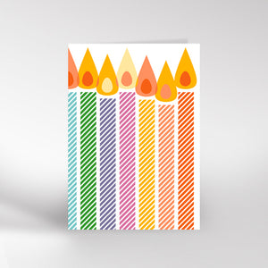 Candles Card