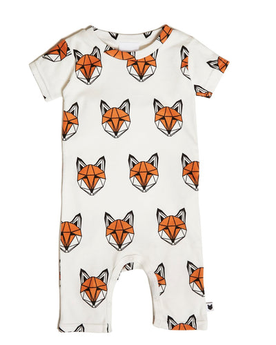 Just Call Me Fox Short Romper