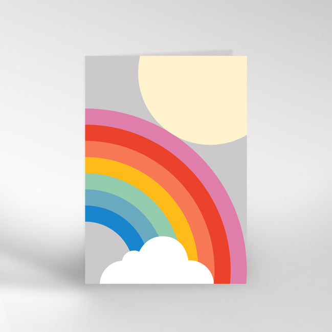Grey Rainbow card