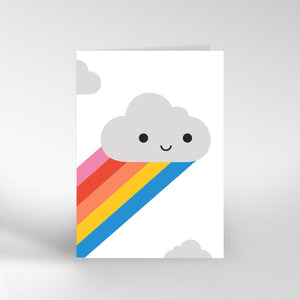 Happy Cloud Card