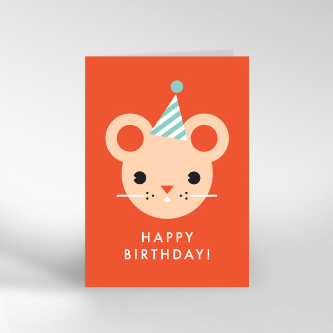 Birthday Mouse Card