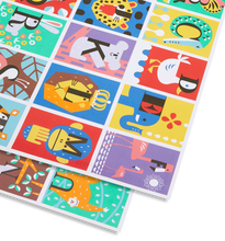 Load image into Gallery viewer, ABC Gift wrap
