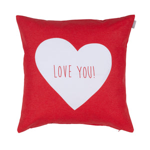 Love You Bubble cushion/cover